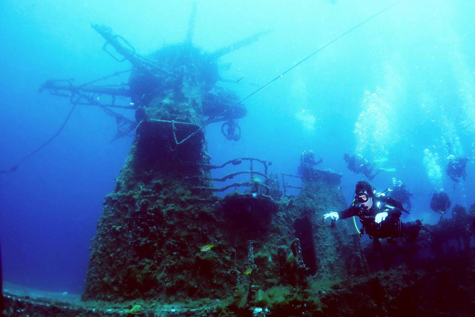 Level 2 Padi Advanced Diver Course And Certification